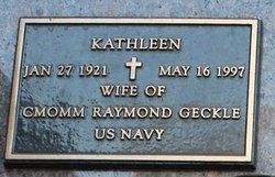 Kathleen Geckle