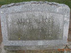 Alice <I>Dubbs</I> Aller