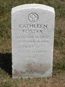 Kathleen <I>Foster</I> Hampel