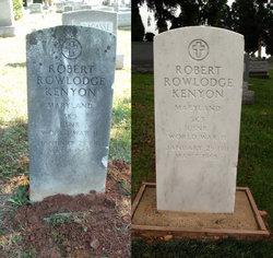 "Robert Rowlodge ""Bob"" Kenyon"