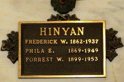 Phila Edith <I>Stone</I> Hinyan