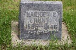 """Harriet E """"Hattie"""" <I>Morrison</I> Hunt"""