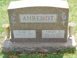 Emery Kenneth Ahrendt
