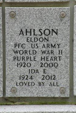 Ida E Ahlson