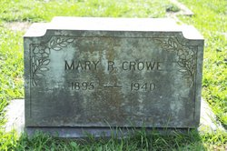 Mary R <I>Johnson</I> Crowe