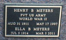 Henry B Meyers
