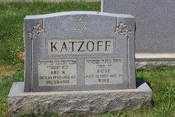 Abe K Katzoff