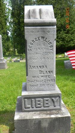 Amanda <I>Blank</I> Libby