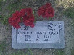 Cynthia Dianne <I>Jones</I> Adair