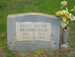 Sallie Maude <I>Nix</I> Higginbotham