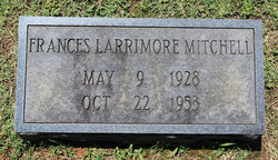 Frances Lee <I>Larrimore</I> Mitchell
