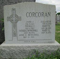 Elizabeth <I>Flanagan</I> Corcoran
