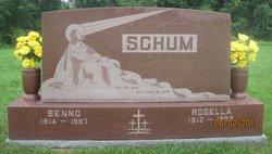 "Rosella Matilda ""Sally"" <I>Hoffman</I> Schum"