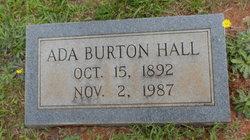 Ada <I>Burton</I> Hall