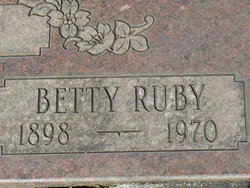 "Betty Lena ""Bessie"" <I>Ruby</I> Loop"