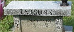 Izora Lorine <I>Scott</I> Parsons