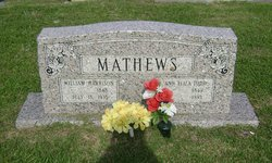 Ann Eliza <I>Todd</I> Mathews