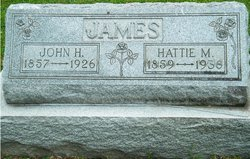 "Harriet M ""Hattie"" <I>McCawley</I> James"