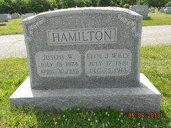 Effie J. <I>Wiley</I> Hamilton