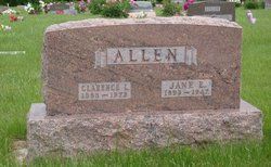 Jane Ellen <I>Jones</I> Allen