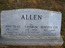 Rebecca <I>Cox</I> Allen