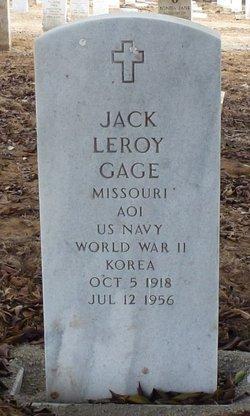 Jack Leroy Gage
