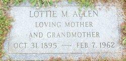 Lottie Marie <I>Cole</I> Allen