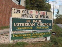 Saint Paul Hametown Lutheran Church Cemetery