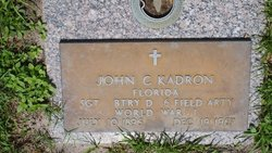 Sgt John C. Kadron