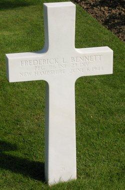 PFC Frederick L. Bennett