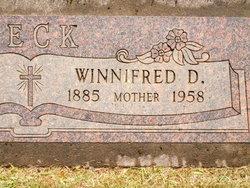 Winnifred Dorotha <I>Gerking</I> Beck
