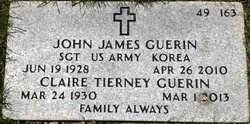 Claire <I>Tierney</I> Guerin