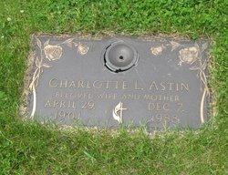 Charlotte Lucille <I>Hutson</I> Astin