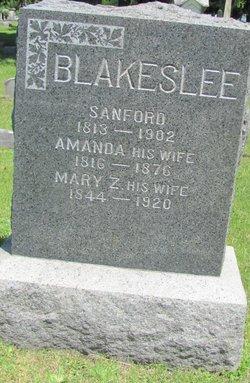 Mary Z. <I>Huntington</I> Blakeslee