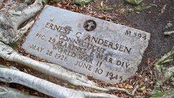 PFC Ernest Charles Andersen