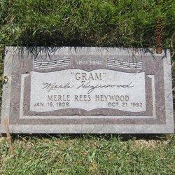"Merle ""Gram"" <I>Rees</I> Heywood"
