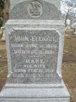 Mary <I>Hughes</I> Elliott
