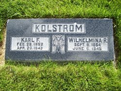 Wilhelmina <I>Ramstrom</I> Kolstrom