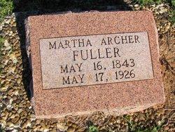 Martha <I>Archer</I> Fuller