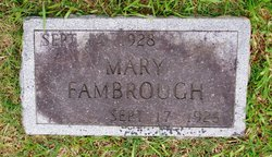 Mary Fambrough