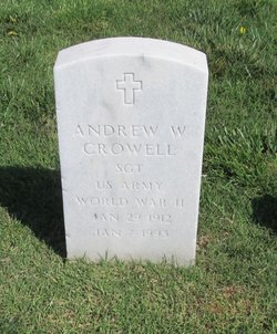 Andrew W Crowell