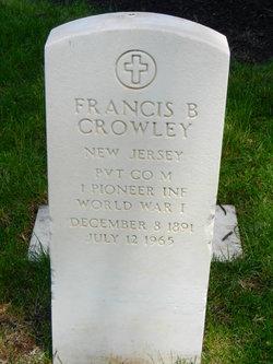 Francis B Crowley