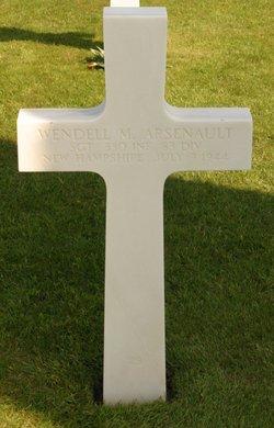 Sgt Wendell M Arsenault