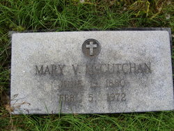 Mary Vaughn <I>McAllister</I> McCutchan