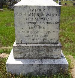 Henrietta Marie <I>Vivion</I> Ward