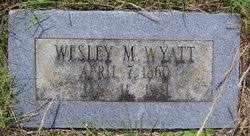 Wesley Murchison Wyatt