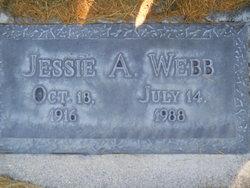 Jessie <I>Allred</I> Webb