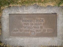 PVT Henry Fick