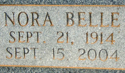 Nora Belle McKee <I>Phillips</I> Miller