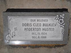 Doris Cleo <I>Bulkley</I> Husted